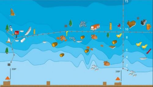 onderwaterkaart van Zandeiland 4, Vinkeveen