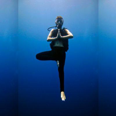 duiken en yoga