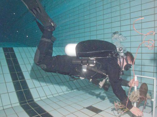 schroef onderwater