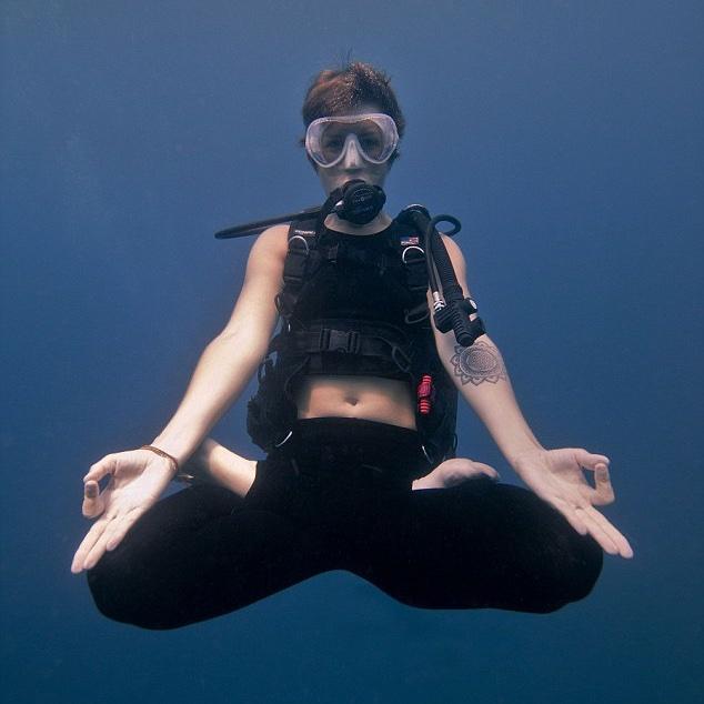 yoga en duiken