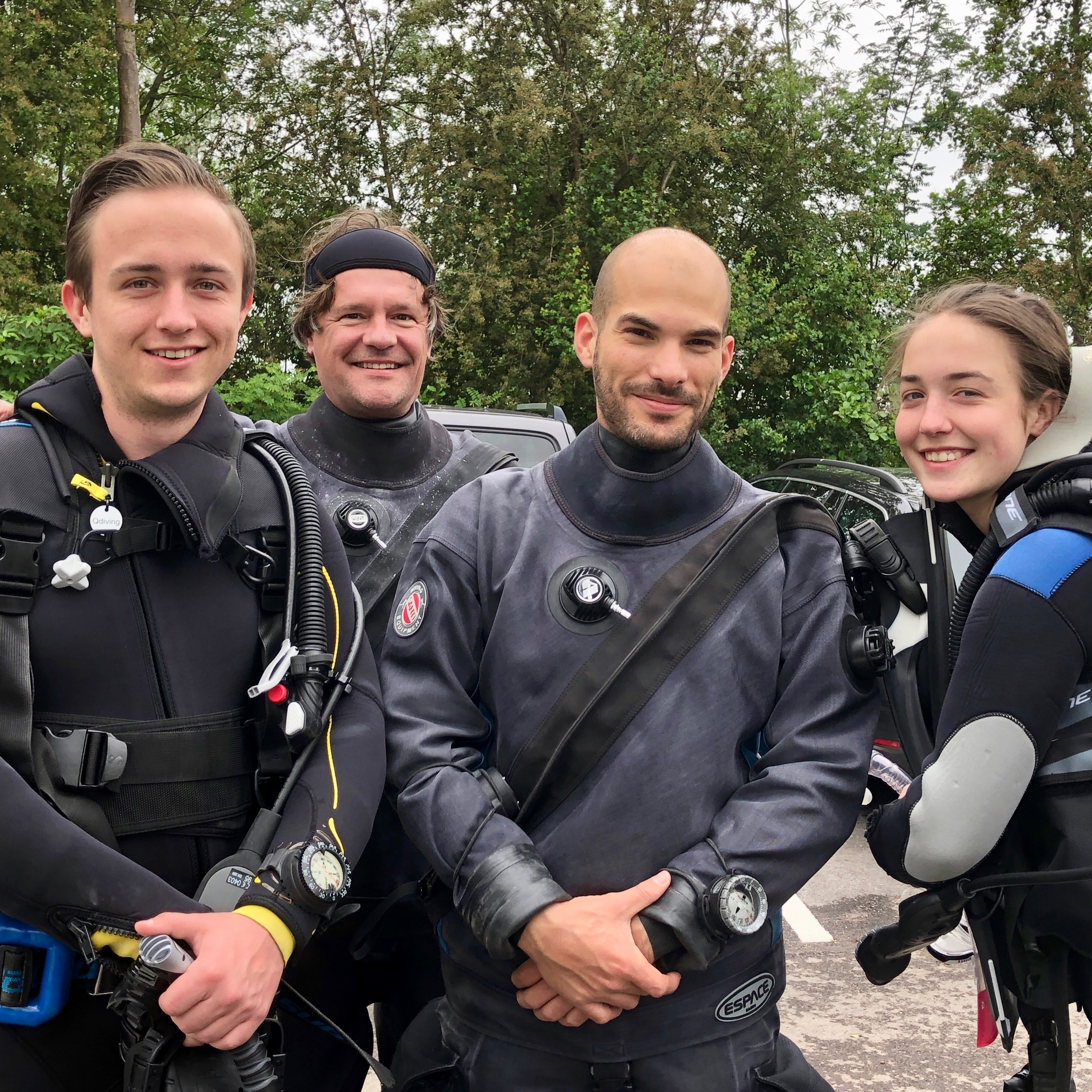 Qdiving Open Water cursus